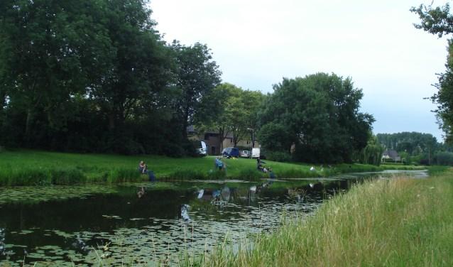 Jeugdviswedstrijd in Giesbeek