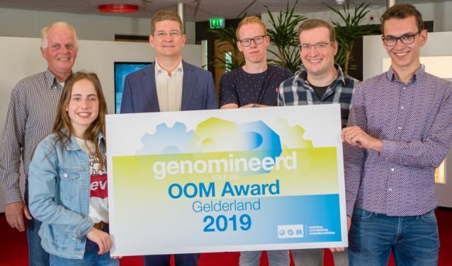 Blijdschap alom. Het Ruurlose bedrijf Bronkhorst High-Tech uit Ruurlo is genomineerd voor de OOM-Award Gelderland 2019.