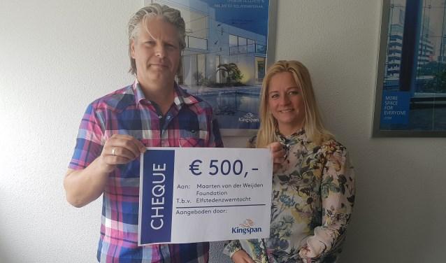 Markwin Drent en Chantal Heuvelman