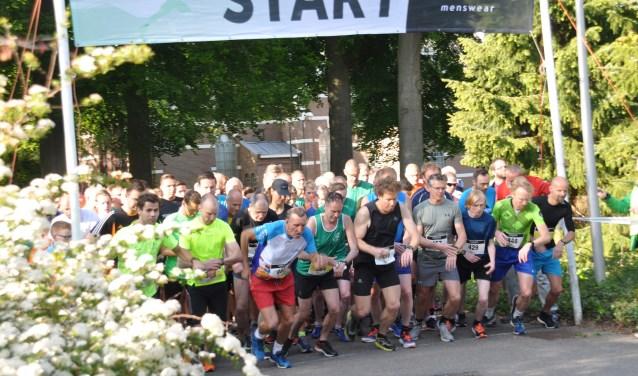 Start van de Germano Veldwijkloop