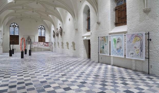 Vrijdag 17 mei is Aan tafel met Vleeshal!, een feestelijk diner in deze Gotische tentoonstellingsruimte. FOTO: PR DE VLEESHAL