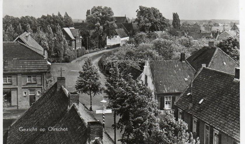 Oirschot omstreeks 1955.
