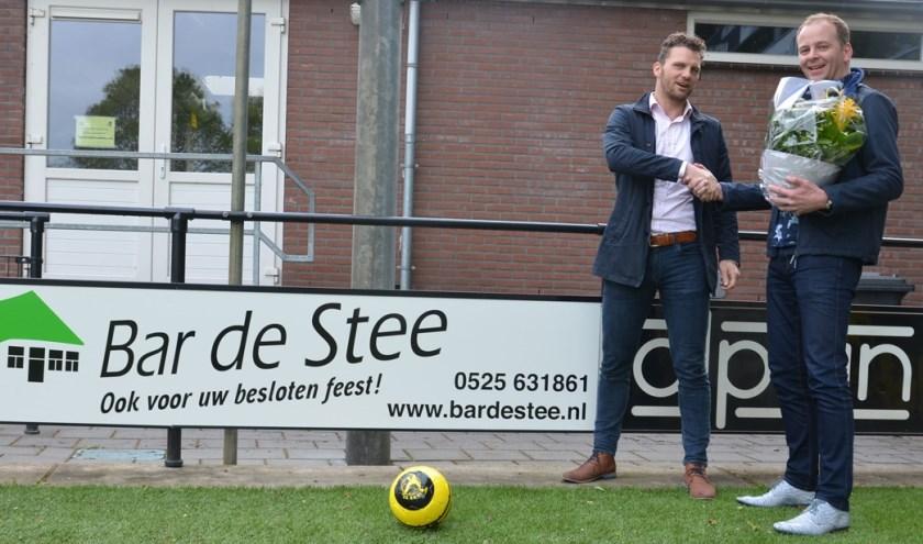 Bas Westerbos (l) en Gerrit van 't Veen. (Foto: Dik Leusink)