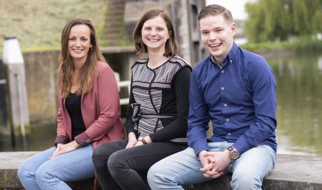 Het nieuwe uitvoeringsteam van Schoonhoven Partners bestaat uit (v.l.n.r.) Machteld van Roest, Emie Noordanus en Patrick de Bondt.