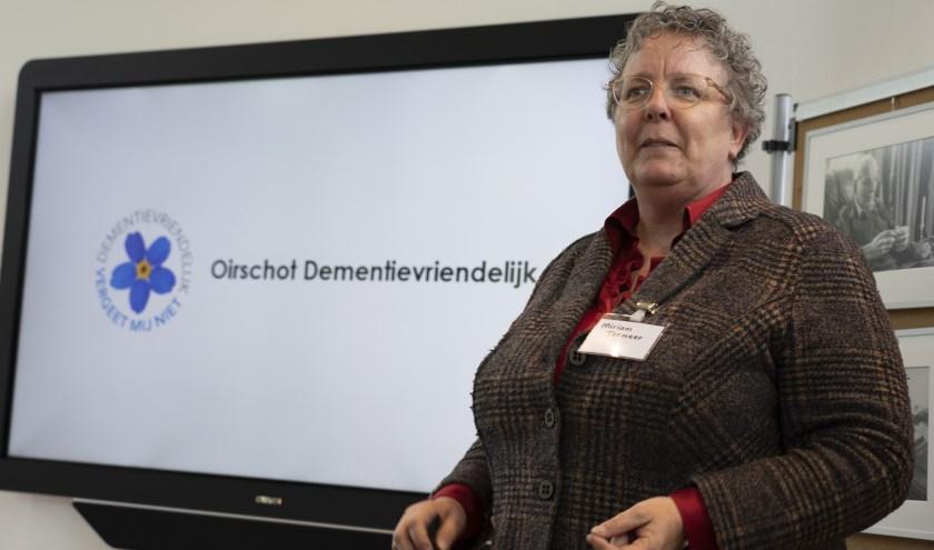 Miriam Termeer van het platform Oirschot dementievriendelijk