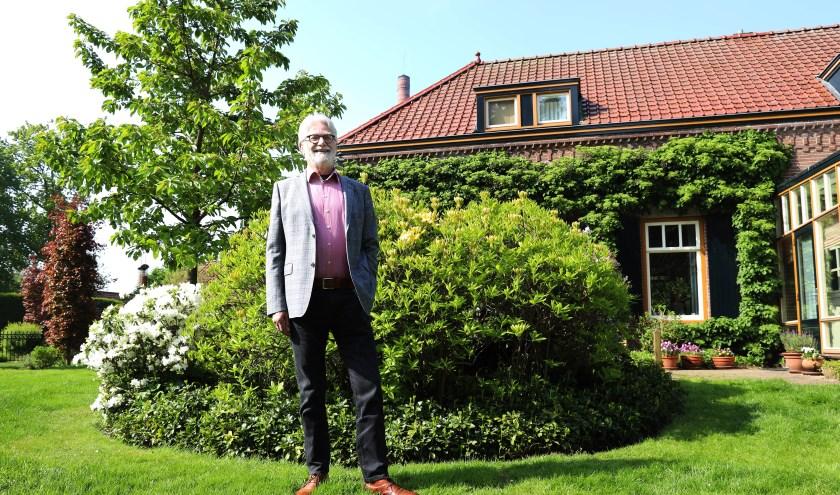 Guus Fonteijn, voorzitter van Hart in Actie. (foto Marco van den Broek)