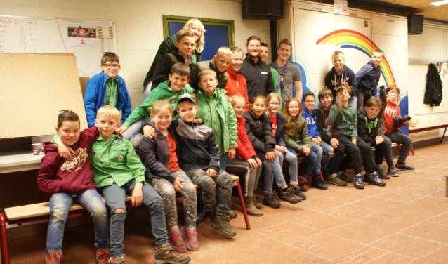 Volop pret bij een spelmiddag van Scoutinggroep St. Jozef in Dongen