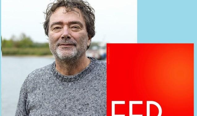 Bert Wagendorp met zijn nieuwe roman Ferrara