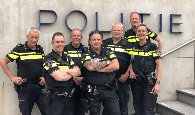 v.l.n.r. Ton Gruiters, Maik Plasman, Piet Tijssen, Tim Bakema, Kees Verheij, Gerco Gijsbers (achter), Margreet de Goeij. (Foto: pr)