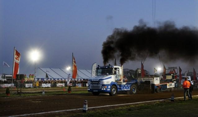 De trucks van Vereniging Truckpulling Nederland (VTN) maken hun comeback bij Trekkertrek Leende. Foto: archief Jurgen van Hoof