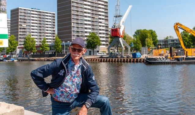 Nico Groot werkte in de Siemens fabriek in de Binckhorst. Nu zet hij zich in voor het behoud van Haags Industrieel Erfgoed.
