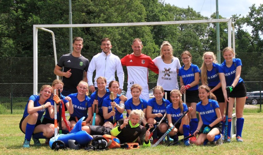 Winnend team MC1 met team Bovelander Hockey Camps