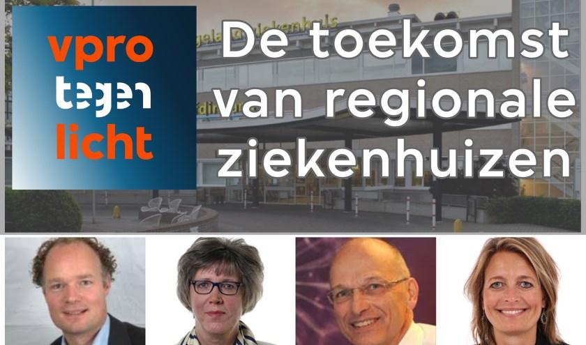 Gasten bij de Meet Up: Jeroen Scholten, Jakoba Jansen, Chris van Ewijk en Ilse Saris