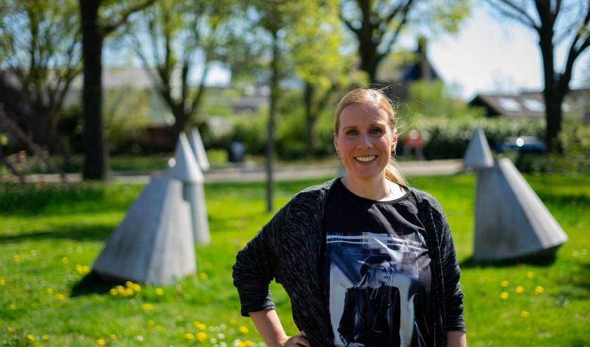 Saskia van Egmond draagt graag haar steentje bij als vrijwilliger.