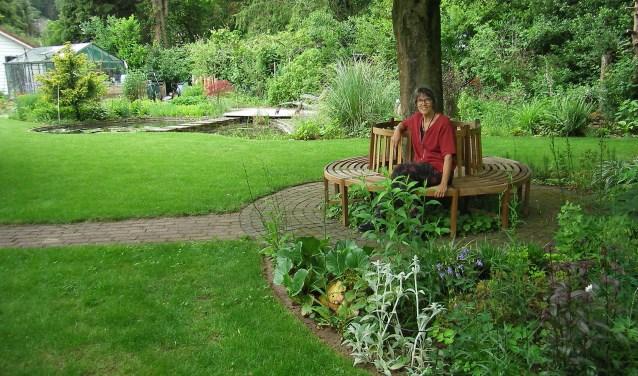 Tuin de Morgenzunne van Janneke Helleman en Wiebe Poppe.