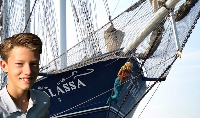 Ties Schoenmakers zet alles op alles om in de herfst aan boord te gaan van deze driemaster voor een leerzaam avontuur: School at Sea.