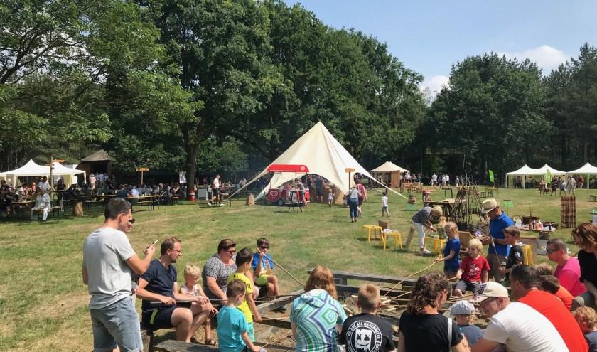 Het Schaapscheerdersfeest in Sint Anthonis staat in het teken van Vaderdag. (persfoto)