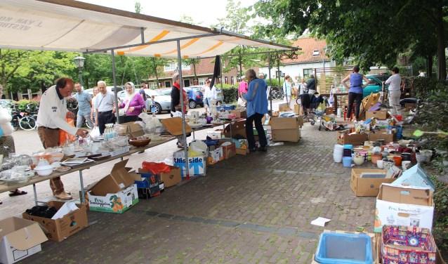 De Pieterskerk en Pauluskerk houden een rommelmarkt voor een goed doel op 15 juni. Foto: Petra Berger