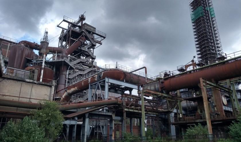 De scouts van 15 tot 18 jaar hebben, onder andere, geklommen in een verlaten duitse fabriek tijdens de jaarlijkse Exploriteit