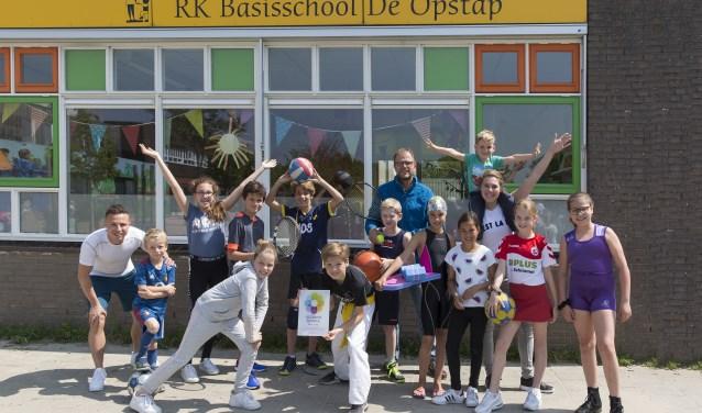 De Opstap officieel een gezonde school! - Zuid Zenderstreek