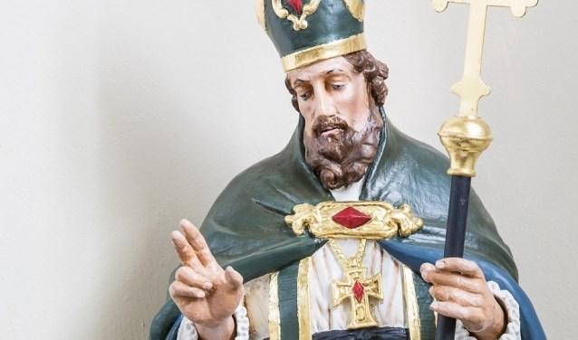 St. Machutus is bekend als beschermer van zieke kinderen en mensen met een beperking. (eigen foto)