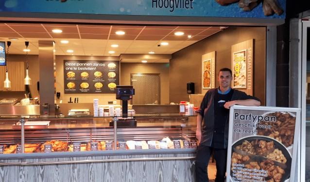 Tijdens de werkzaamheden aan de Aveling blijven de winkels van Winkelcentrum Hoogvliet goed bereikbaar, aldus Marcel Sigmond