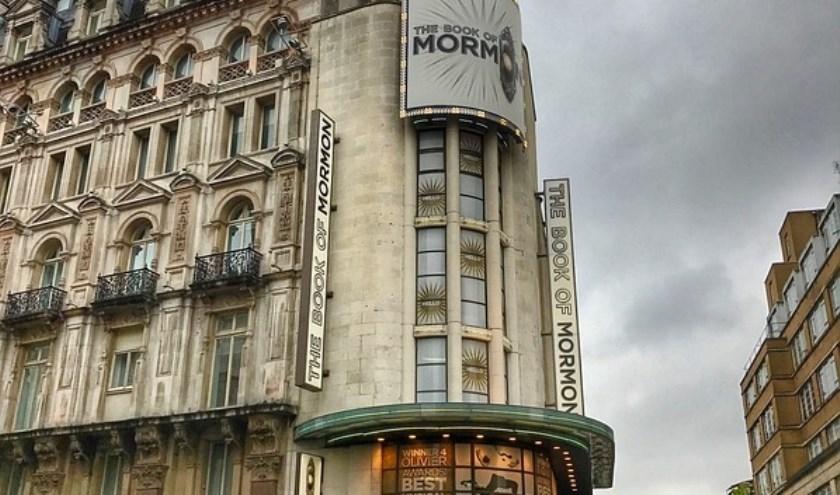 West End, het beroemde theaterdistrict hartje Londen. Foto: Pixabay.