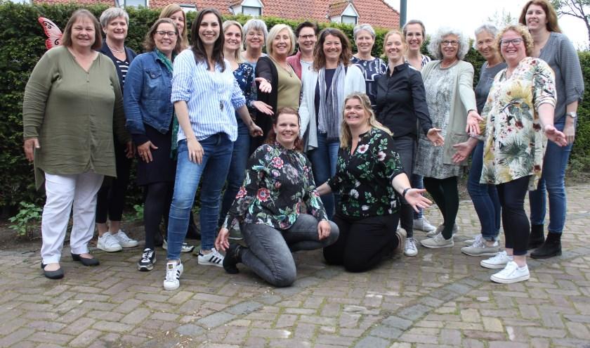 Het wordt een Summer-Sing-a-Long feest met Carolina Dijkhuizen en de Songbirds. Foto: Wendy van Lijssel