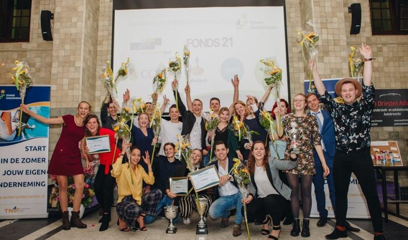 Deelnemers ZomerOndernemer regio Utrecht 2018.