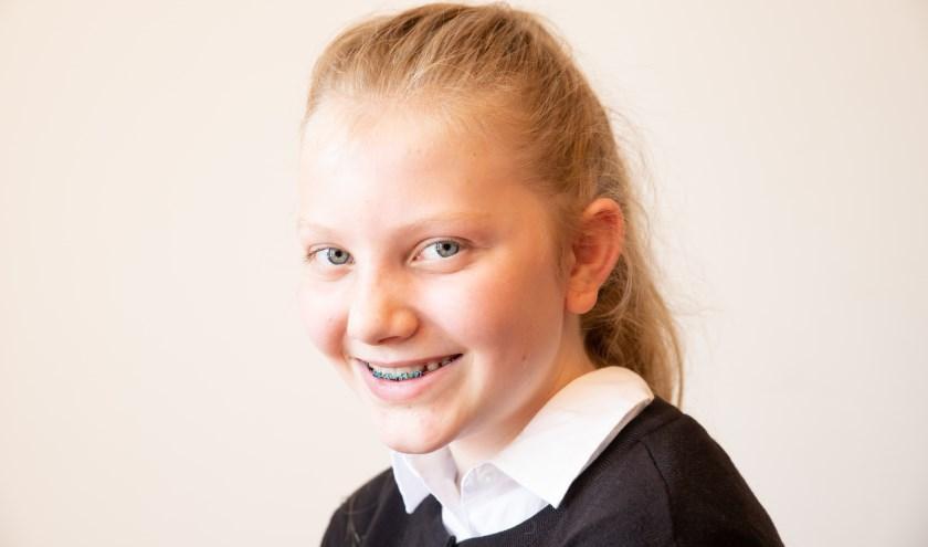 De 13-jarige Denise van Hunen uit Bennekom binnenkort te zien in het Stadsschouwburg van Utrecht.