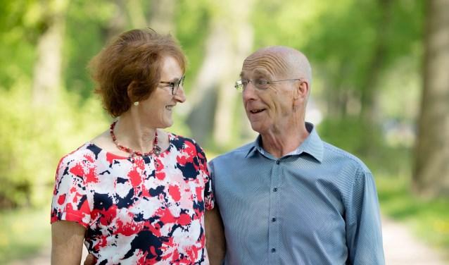 Jan en Fransien van Bokhoven vieren aanstaande donderdag hun gouden bruiloft met vrienden en familie.