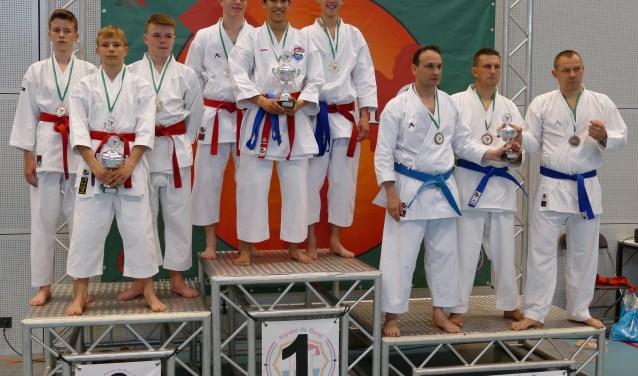 Goud voor Harderwijker Karate-team