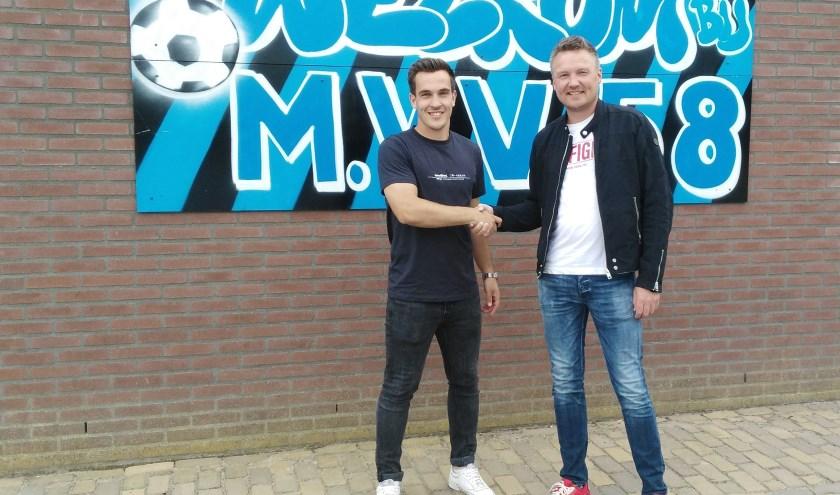 Daan verzorgt ook volgend seizoen de techniektrainingen bij MVV'58.