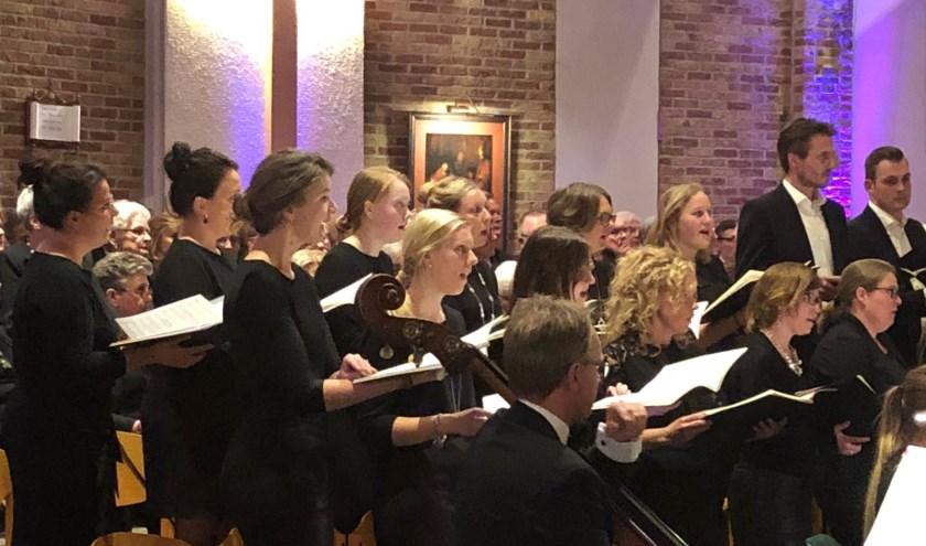 Jongerenkoor Judah zingt zaterdag in de Grote Kerk in Vriezenveen.
