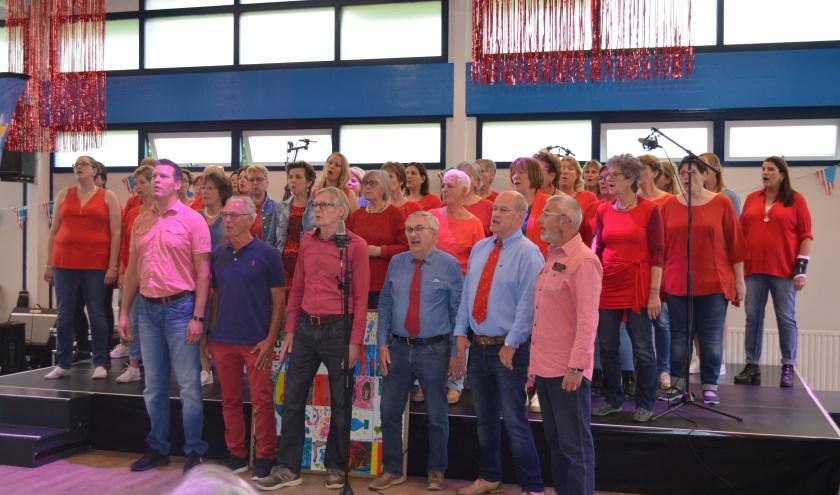 SKOOR zingt op tweede Pinksterdag 2019 in Wijkgebouw De Wieken