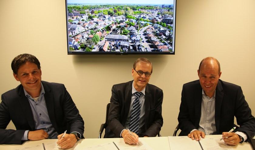 V.l.n.r.: Frank van der Heijden, Tymon de Weger, Roy Uijtewaal. Foto: Alex de Kuijper