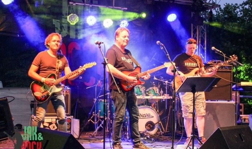 Ook dit jaar is er een mooi programma opgesteld met diverse bands. Vorig jaar maakten De Kneiters hun opwachting. Foto: P. Scholman.