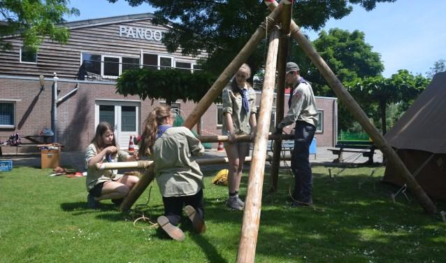 Na weken van voorbereiding zijn beide teams van scouting Panoord er helemaal klaar voor.