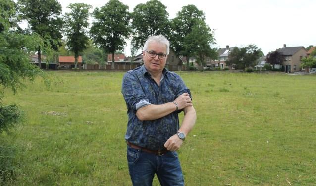 """CDA-raadslid Gerrit Assink: """"de mouwen opstropen voor woningbouw op het voormalig terrein van de Technische School Aalten""""."""