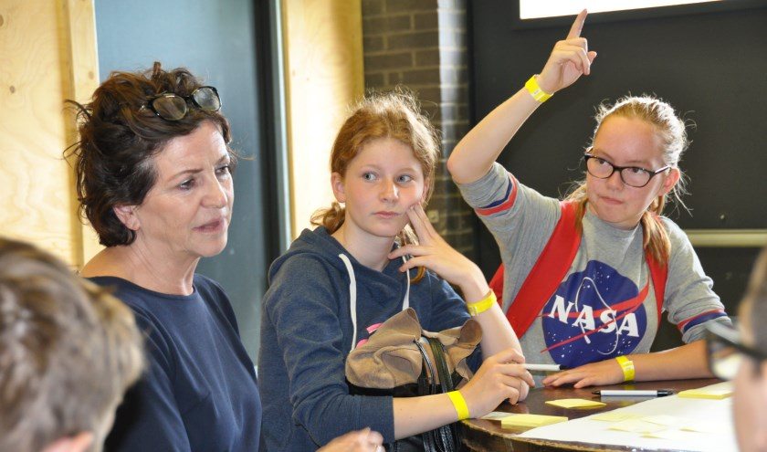 Leerlingen nemen actief deel aan workshops die verzorgd worden door professionals van onder andere Novadic Kentron en HALT.