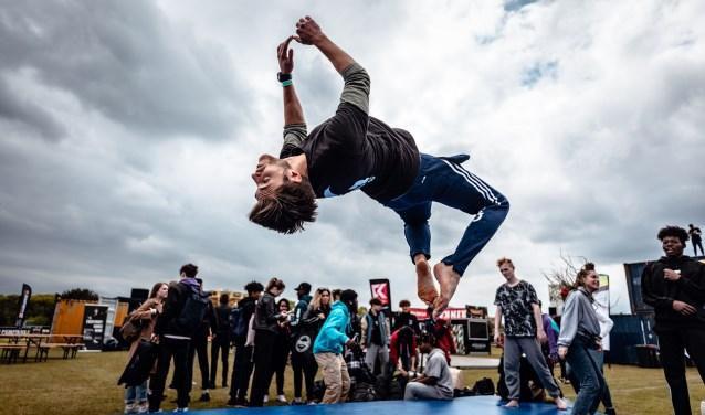 Urban sports tijdens het Framed festival op Papendal