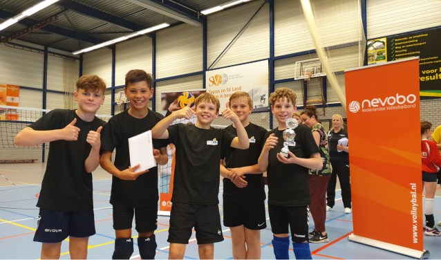 Groep 8 van basisschool 't Schrijverke/IKC Toverberg werd derde. Foto: PR