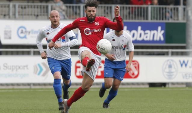 Voor Rhoon zit het seizoen erop naar de nederlaag in Rotterdam bij VVOR (archieffoto: John de Pater)