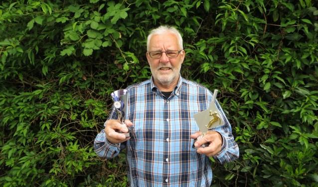 Evert Plugge doet sinds 2010 aan jeu de boules. Tegenwoordig wint jeu de boules vereniging De Schalm ook weleens een prijs.
