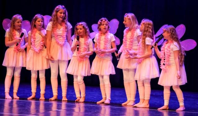 Elfjes uit de musicalvoorstelling 'het Dromenwoud'. (Foto: Jan Moll Fotografie)