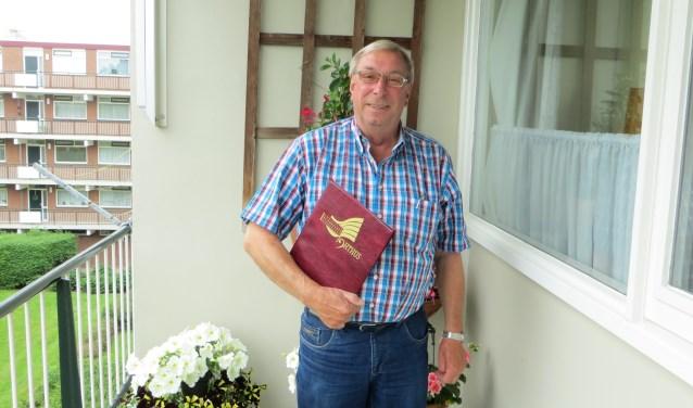 Arie werd na zijn pensioen lid van Ichthus. (Foto's: Yvonne Vogel)