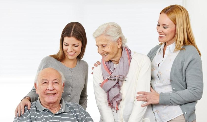 Mantelzorg voor ouderen.