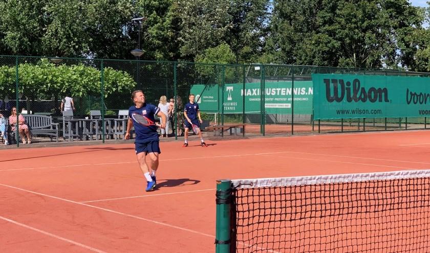 Open toernooitennis bij Hiaten afgelopen week.