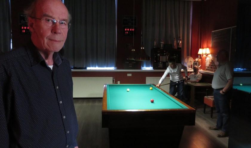 "Willem Findhammer: ""Biljarten is leuk en ontspannend."""