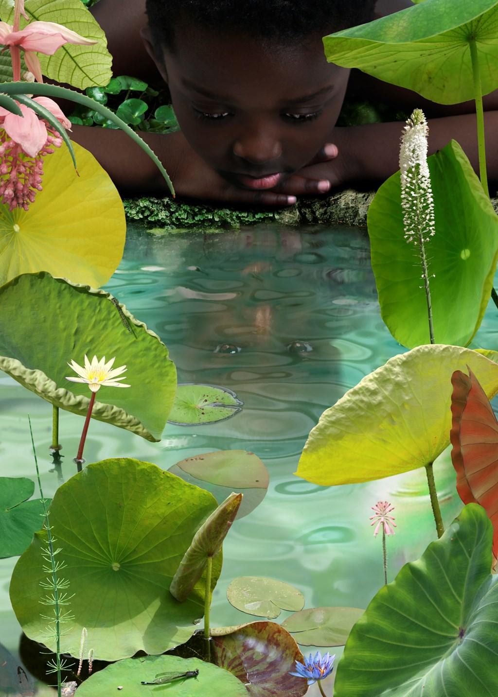 World # 23, 2006, ING Collectie Foto: Ruud van Empel © Persgroep